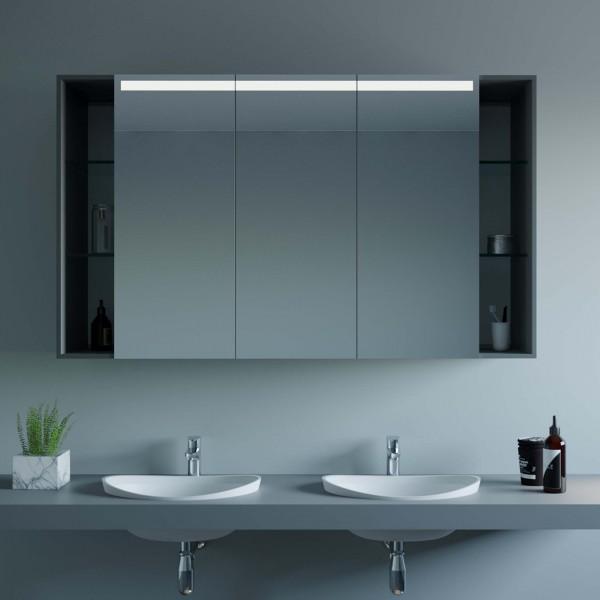 LED Spiegelschrank mit Ablagen - Sofia
