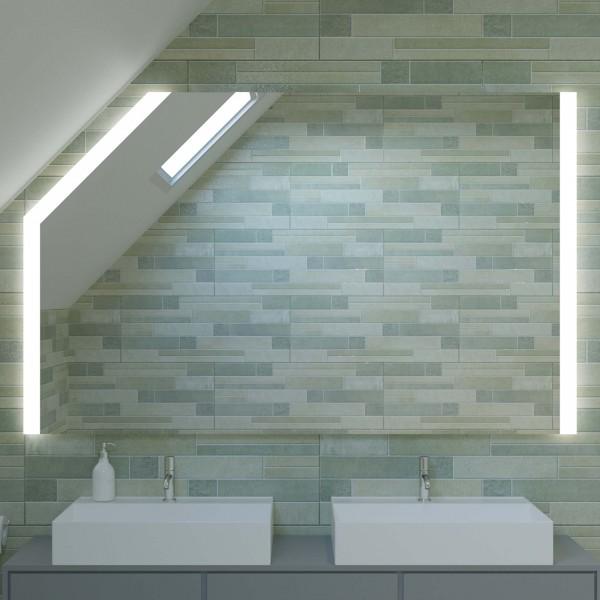 Badspiegel für Dachschrägen nach Maß - Shanghai