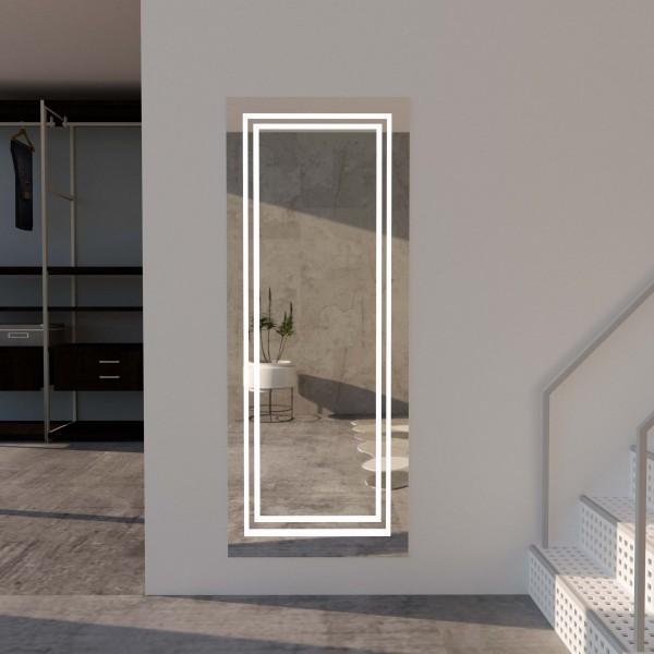 Wandspiegel mit LED-Beleuchtung - Valeria