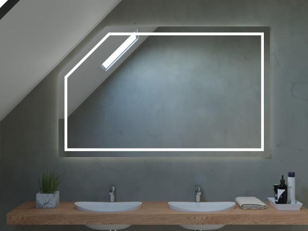 Badezimmerspiegel mit Schräge - Dublin