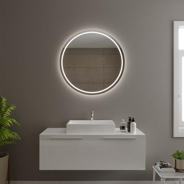 Runder Spiegel mit LED - Schwerin