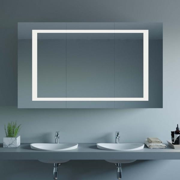 Spiegelschrank nach Maß mit LED - Emilia
