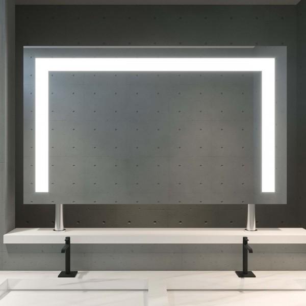 Spiegel Raumteiler mit LED - Weser