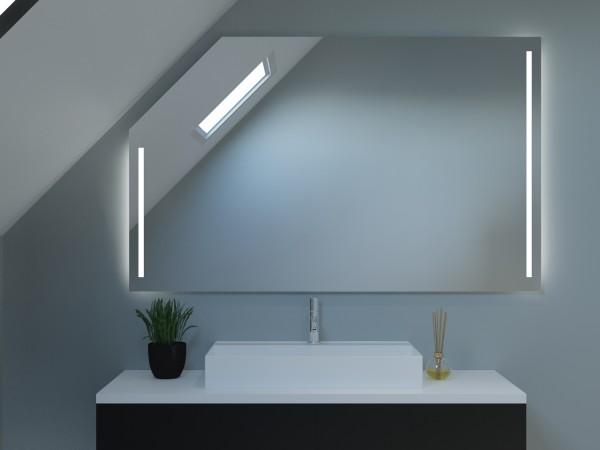 LED Badspiegel mit Dachschräge - Seoul
