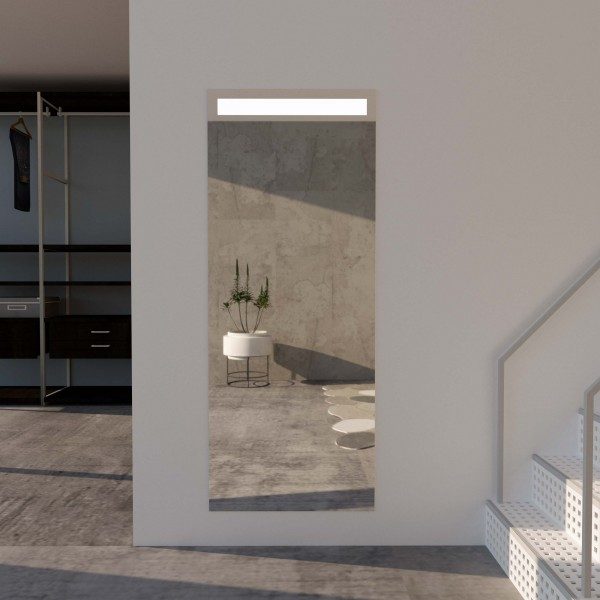 Wandspiegel mit LED-Beleuchtung - Alba
