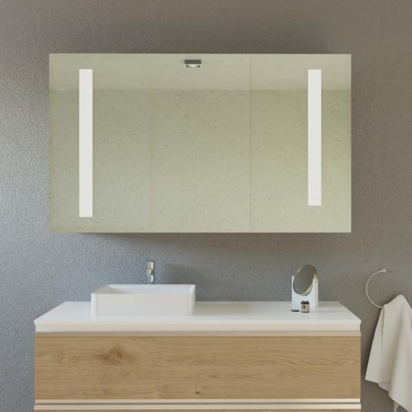 LED Badspiegelschrank nach Maß - Luisa