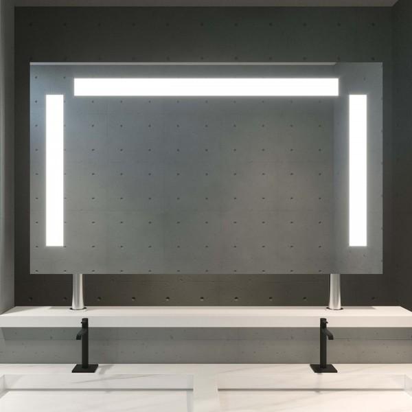 LED Spiegel Raumteiler nach Maß - Ems