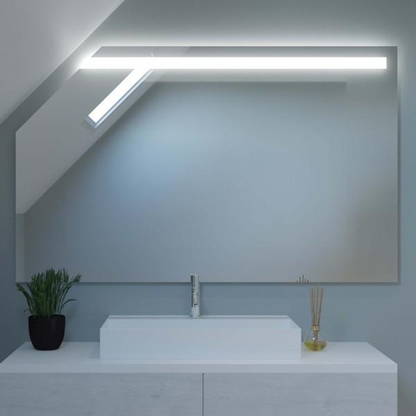 Beleuchteter Spiegel für Dachschrägen - Hongkong