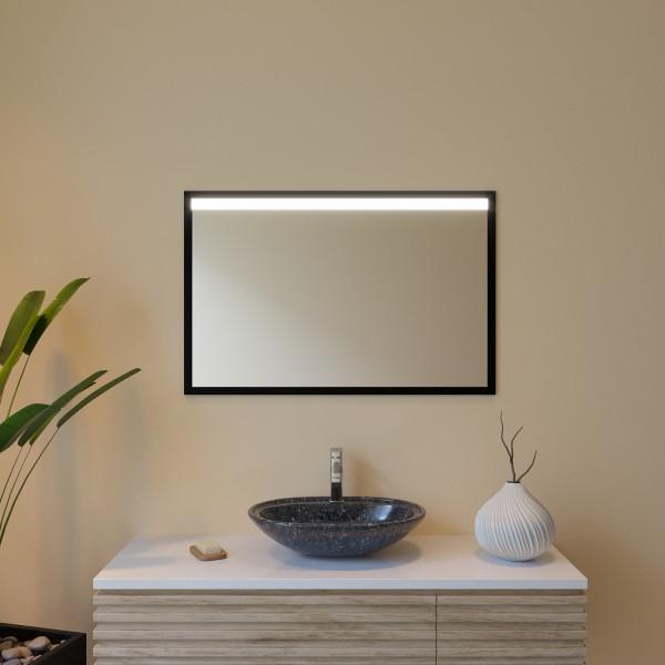 Spiegel mit Rahmen schwarz/silber - Ägypten
