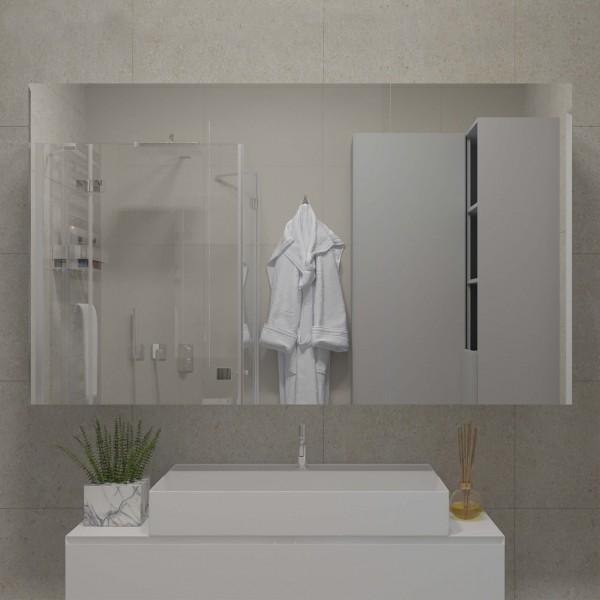 LED Badspiegelschrank nach Maß - Liam