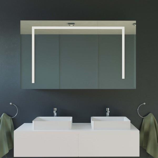 Badspiegelschrank mit LED-Beleuchtung - Lina