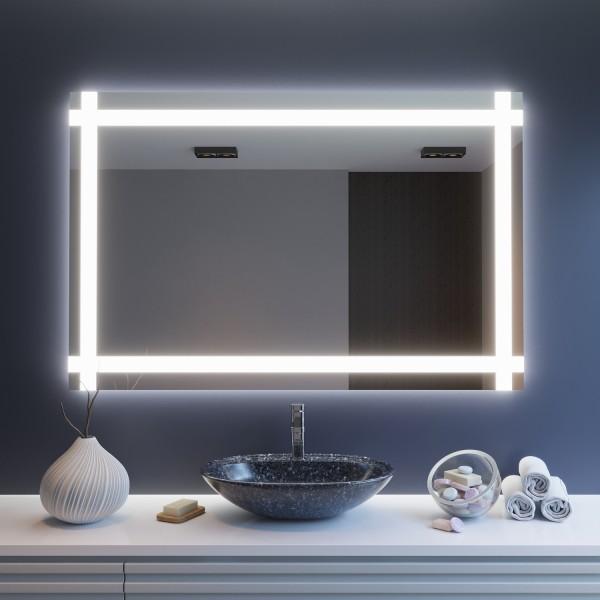 Badspiegel mit LED-Beleuchtung - Kassel