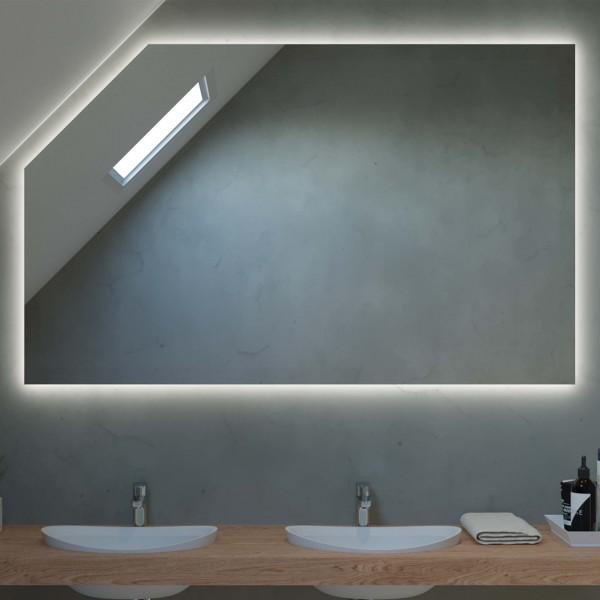 Spiegel für Dachschrägen Hintergrundbeleuchtung - Wien