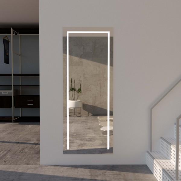 Wandspiegel mit LED-Beleuchtung - Oliver