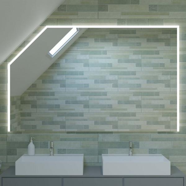 LED Spiegel mit Dachschräge - Dubai