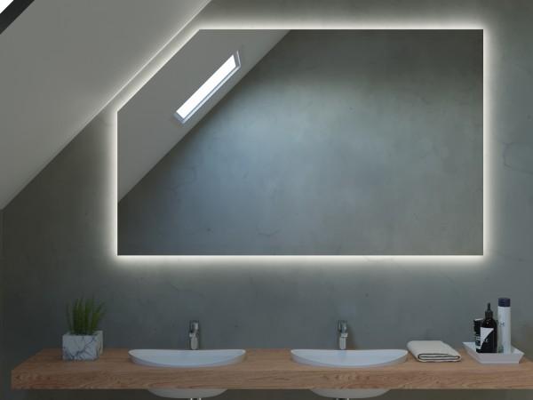 LED Badspiegel mit Dachschräge - Wien