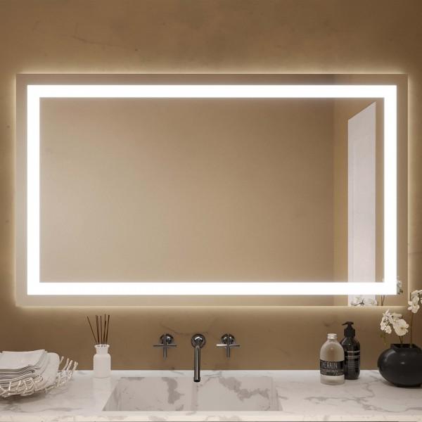LED Badspiegel nach Maß - Bonn