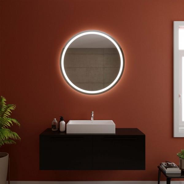 Runder Spiegel mit LED - Erfurt