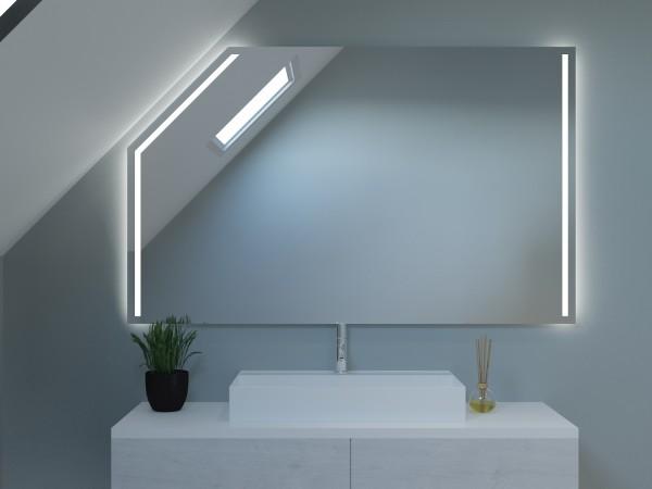 LED Badspiegel mit Dachschräge - Berlin