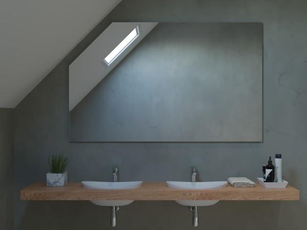 Spiegel ohne Beleuchtung für die Dachschräge - Mailand